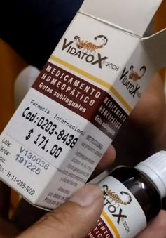 Bày bán tràn lan thuốc ung thư giả tại cổng viện