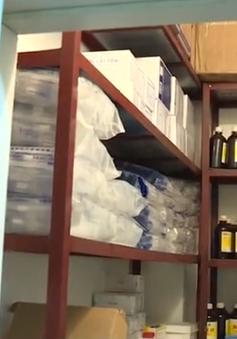 Phát hiện số lượng lớn thuốc nước ngoài trong phòng khám chui