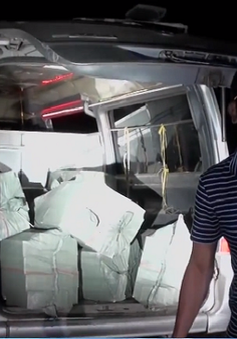Đặc nhiệm biên phòng miền Nam bắt giữ vụ buôn lậu thuốc lá quy mô lớn