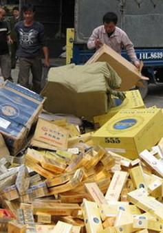 Thuốc lá lậu lũng đoạn thị trường