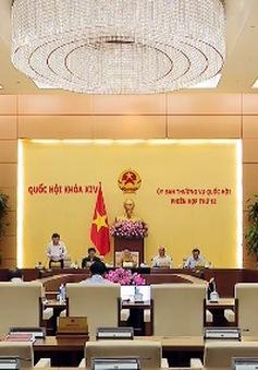 Bế mạc phiên họp Ủy ban Thường vụ Quốc hội