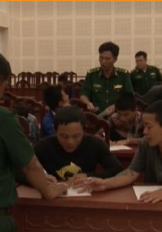 Indonesia trao trả 45 thuyền viên ở Kiên Giang đánh bắt trái phép