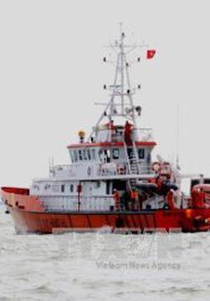 Bà Rịa-Vũng Tàu: Tiếp nhận thuyền viên bị đột quỵ trên biển