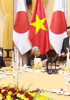 Chủ tịch nước và Phu nhân chiêu đãi Nhà vua và Hoàng hậu Nhật Bản
