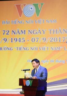 Đài Tiếng nói Việt Nam kỷ niệm 72 năm ngày thành lập