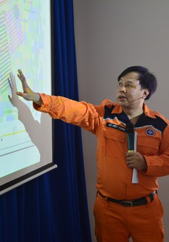 Thời tiết xấu, việc tìm kiếm cứu nạn tàu Hải Thành 26 - BLC gặp nhiều khó khăn