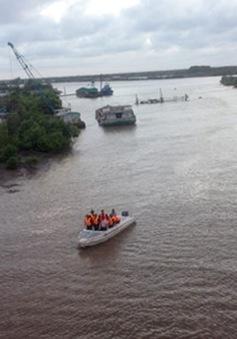 Vụ chìm tàu ở Bạc Liêu: Vẫn chưa phát hiện được cô gái nghi mất tích