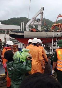 Tìm thấy thêm một thi thể thuyền viên bị nạn tại Quy Nhơn