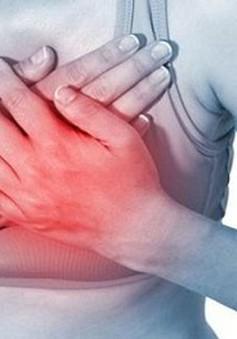 Gần 1/2 các cơn đau tim không có triệu chứng ở ngực