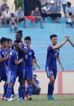 Giải VĐQG V.League 2017 chiều 22/9: CLB Quảng Nam 2-1 CLB Hải Phòng, B. BD 0-0 SLNA, Than Quảng Ninh 0-0 SHB Đà Nẵng