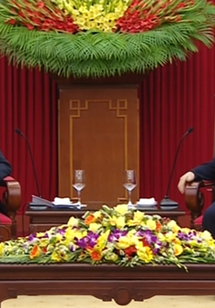 Tổng Bí thư đánh giá cao chuyến thăm của Bí thư Đô trưởng Vientiane