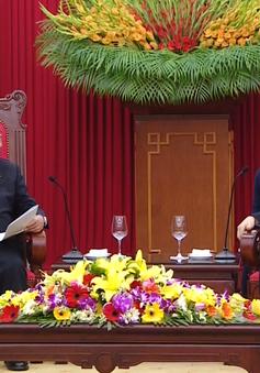 Tổng Bí thư đánh giá cao đóng góp của Hạ viện Nhật Bản trong quan hệ hai nước