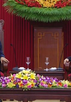 Tổng Bí thư Nguyễn Phú Trọng tiếp đoàn đại biểu Đảng Cộng sản Trung Quốc