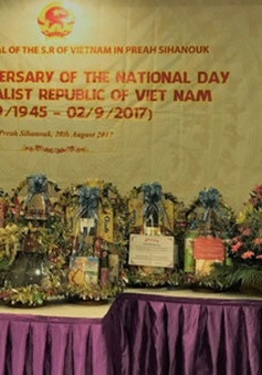 Tổng lãnh sự quán tại Sihanoukville kỷ niệm 72 năm ngày Quốc khánh