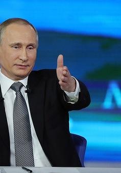 Người dân Nga gửi gần 2 triệu câu hỏi tới Tổng thống Putin