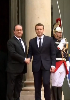 Tân Tổng thống Pháp chính thức nhậm chức