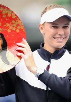 Wozniacki lọt top tay vợt nữ đều đặn giành cúp trong 1 thập kỷ