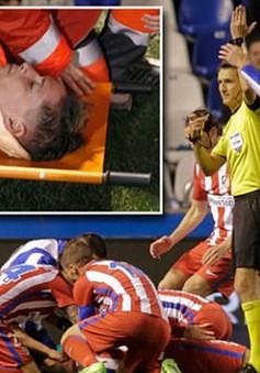 Những vụ ngã bất tỉnh của sao bóng đá trên sân cỏ