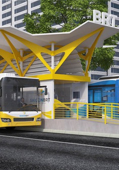 TP.HCM dừng triển khai xe bus nhanh BRT