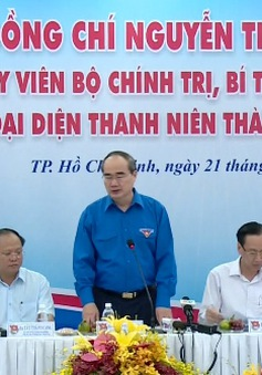 Bí thư Thành ủy TP.HCM đối thoại với thanh niên