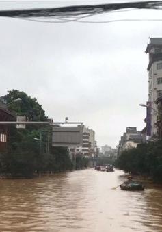 Trung Quốc: Mưa lớn kéo dài, 9 người thiệt mạng