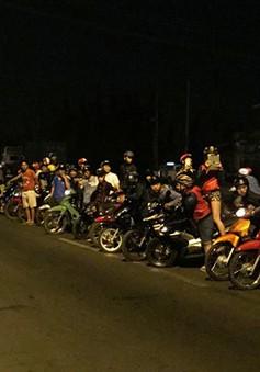 """Đồng Nai: """"Quái xế"""" chặn xe làm đường đua gây náo loạn QL1A"""