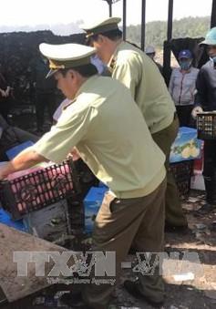 Bình Phước xử lý nhiều vụ trái cây ngoại tuồn lậu vào chợ