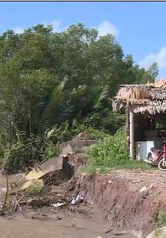 Trà Vinh: Khu tránh trú bão tiền tỷ thi công dở dang