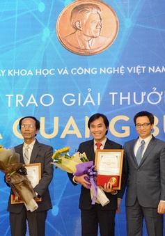 Lễ trao Giải thưởng Tạ Quang Bửu 2017