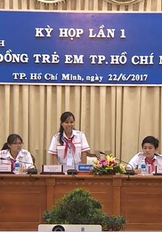 Nhiều điểm mới lạ trong kỳ họp Hội đồng trẻ em tại TP.HCM