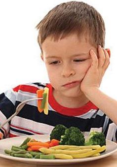 Làm gì với chứng biếng ăn ở trẻ?