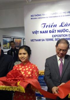 Mang hình ảnh con người, biển đảo Việt Nam đến với nước Pháp