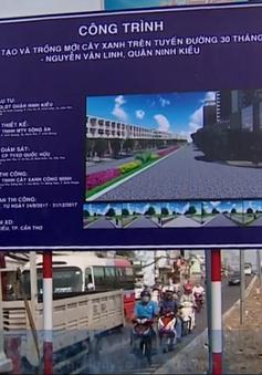Thành phố Cần Thơ triển khai trồng cây xanh theo chủ đề