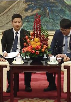 Trung Quốc coi trọng quan hệ hợp tác đối tác chiến lược toàn diện với Việt Nam