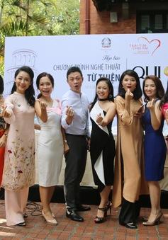 """Các BTV của VTV đồng loạt """"thả tim"""" cho chương trình nghệ thuật từ thiện QUI E ORA"""