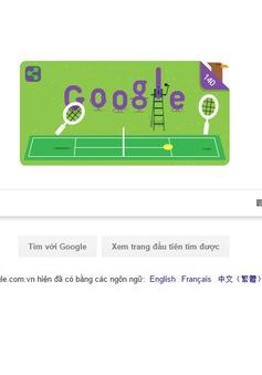 Google đổi ảnh đại diện kỷ niệm giải vô địch Wimbledon lần thứ 140
