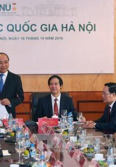Thủ tướng làm việc với Đại học Quốc gia Hà Nội