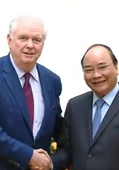 Thủ tướng tiếp giáo sư Đại học Havard Thomas Vallely