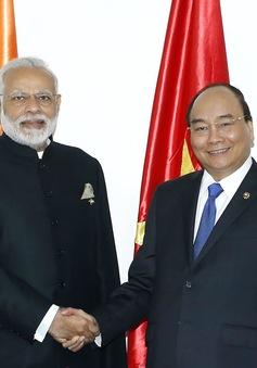 Thủ tướng Nguyễn Xuân Phúc hội kiến Thủ tướng Ấn Độ