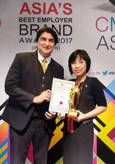 Tập đoàn TTC nhận giải thưởng quốc tế Asia Best CSR Practices Awards 2017