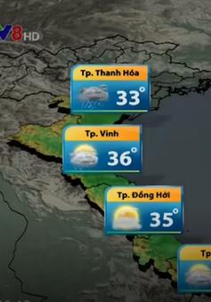 Nắng nóng diện rộng ở Trung Bộ suy giảm
