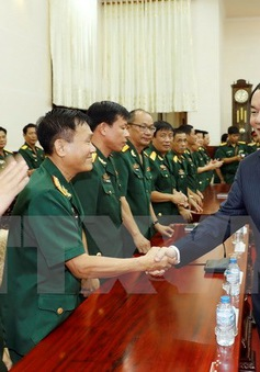 Chủ tịch nước đánh giá cao những thành tích của lực lượng Quân khu 9