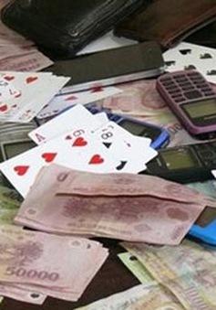 Long An khởi tố 11 đối tượng cờ bạc