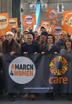 Tuần hành tại Anh vì phụ nữ tị nạn