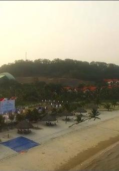 Hạ Long sẵn sàng cho giải bóng chuyền bãi biển nữ châu Á - Tuần Châu 2017