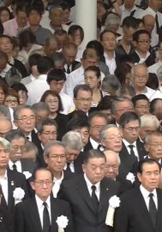 Nhật Bản tưởng niệm 72 năm thảm họa hạt nhân Nagasaki