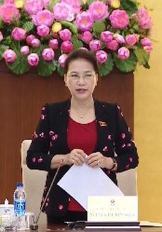 Ủy ban thường vụ Quốc hội khai mạc phiên họp thứ 12
