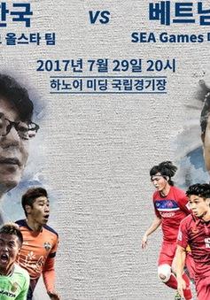 U22 Việt Nam – Tuyển các Ngôi sao K-League: Chờ đợi bữa tiệc của bóng đá tấn công (20h00 trực tiếp trên VTV6)