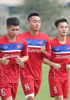 ĐT U23 Việt Nam chốt danh sách 23 cầu thủ tham dự VL U23 châu Á 2018