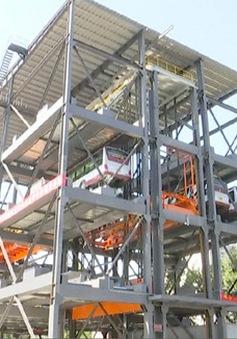 Trung Quốc: Xây bãi đậu xe bus cao tầng ở Bắc Kinh